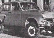 Moskvitch 410 Sport Utility Vehicle
