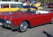 Lincoln Continental 4 Door Convertible