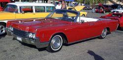 Lincoln Continental 4 Door Convertible